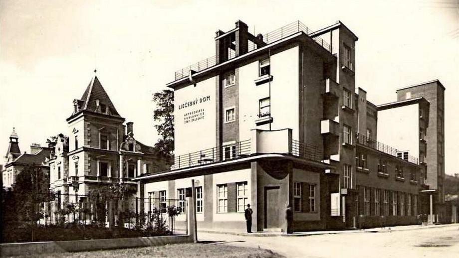 Trenčianské Teplice na dobovém snímku
