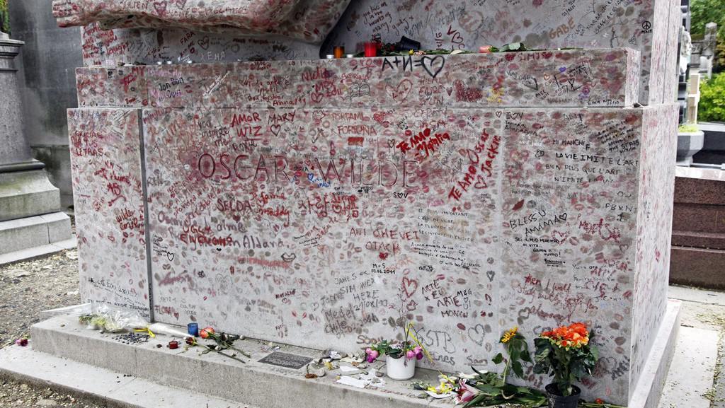 Starý náhrobek Wildea