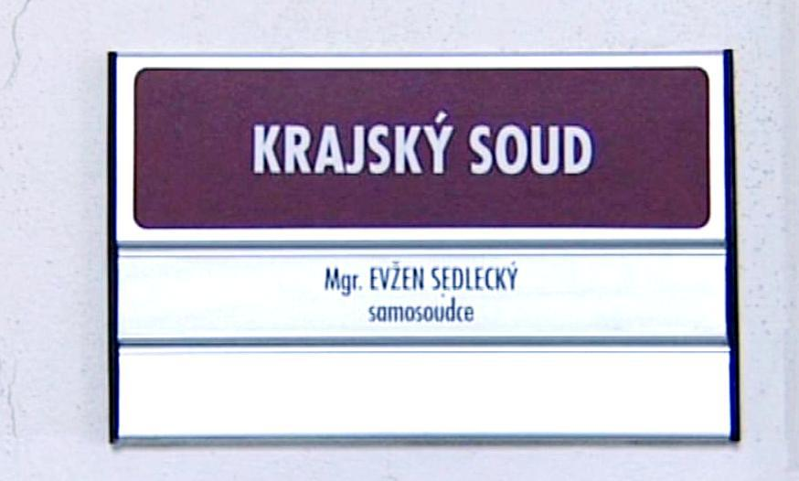 Soudce Evžen Sedlecký