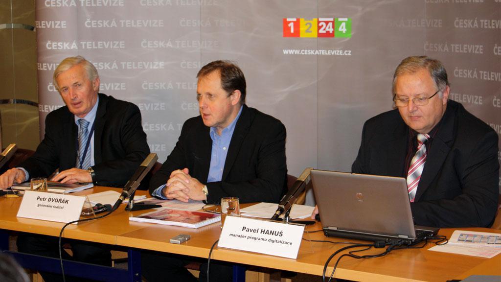 Tisková konference k ukončení analogového vysílání