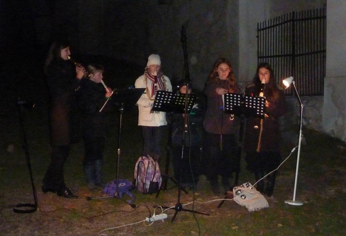 Flétnový soubor Gaudium - Mníšek p. Brdy