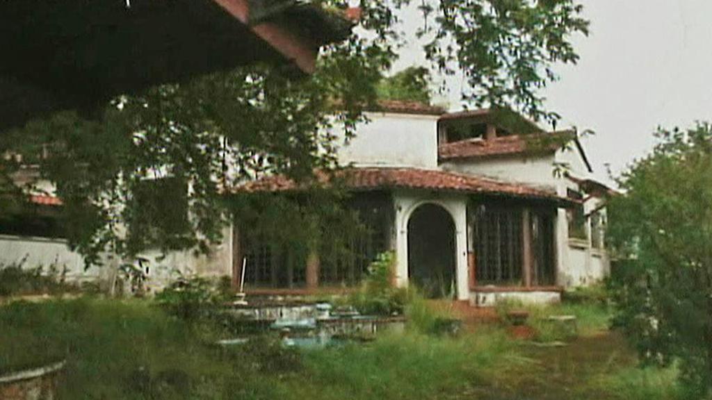 Panamské sídlo Manuela Noriegy
