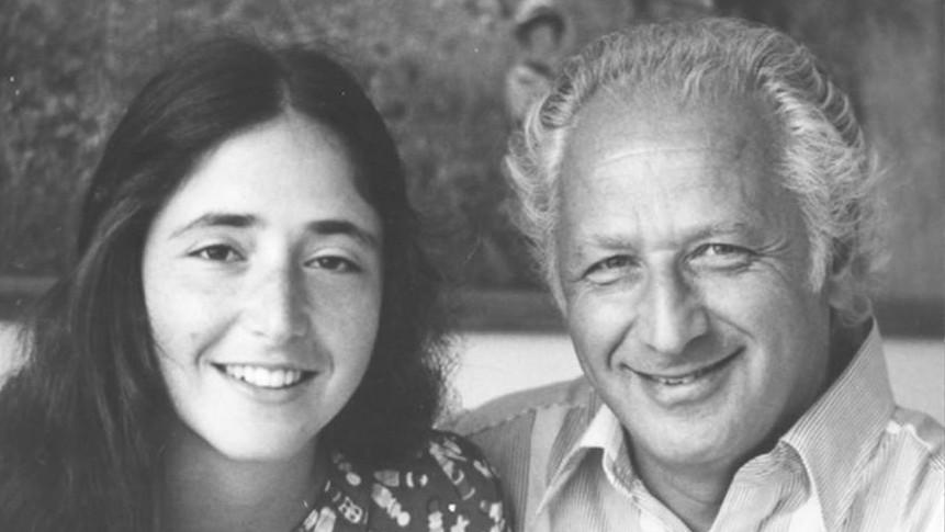 Arnošt Lustig s dcerou