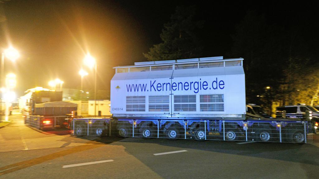 Kamiony s jaderným odpadem
