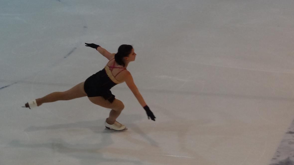 Eliška Březinová dosáhla na bronz
