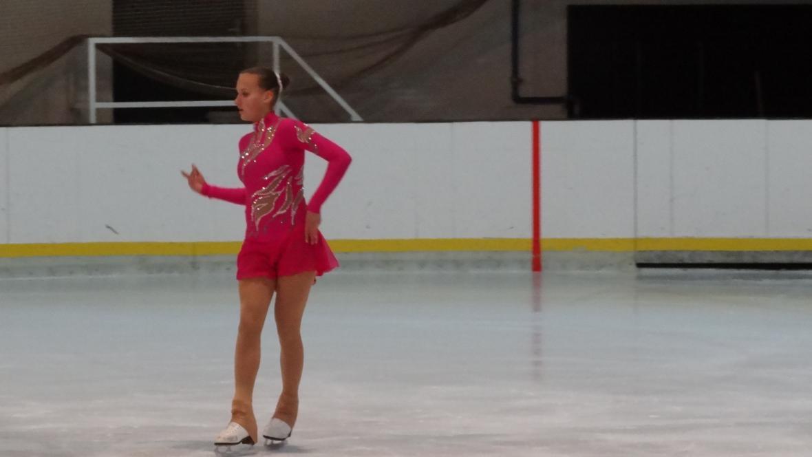 Vítězná juniorka Nastasia Lobačevská