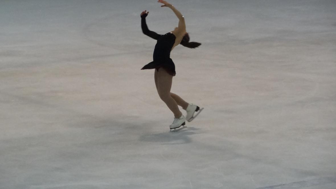 Vítězná Alexandra Kunová
