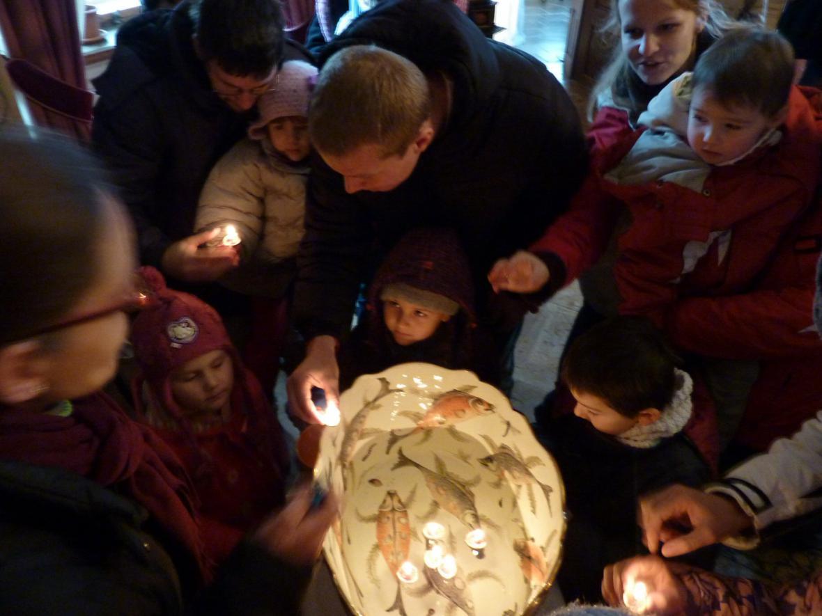 Advent na zámku v Mníšku
