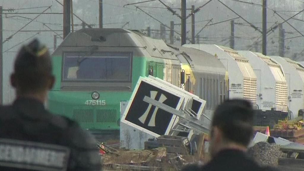 Vlak s jaderným odpadem