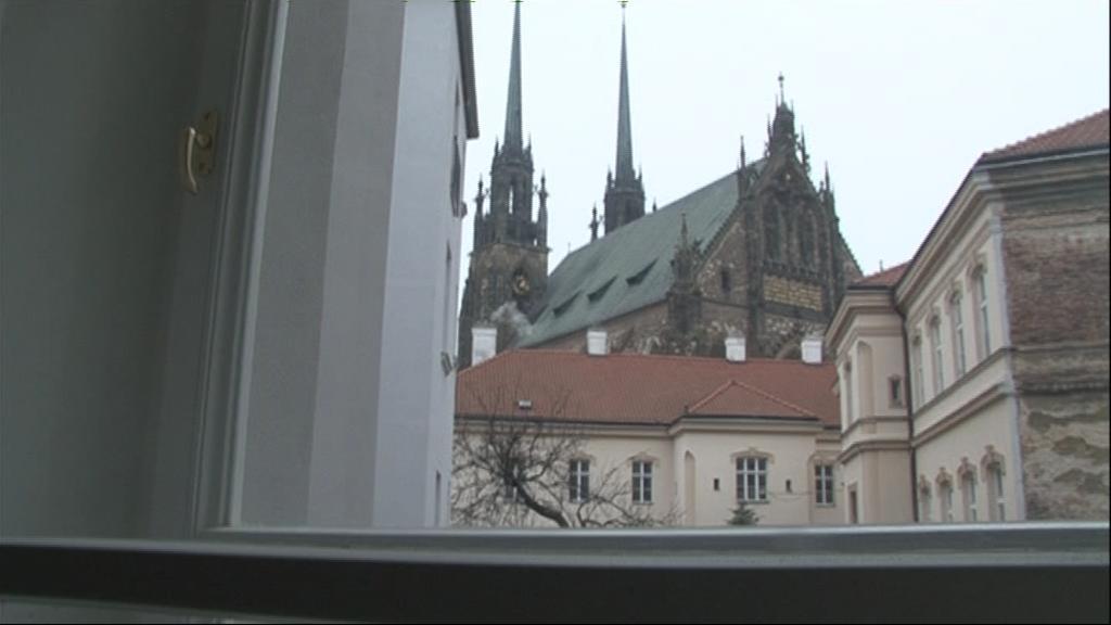 Výhled z domu, v němž žil Hugo Haas
