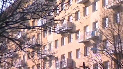 Panelové domy na Brně-severu