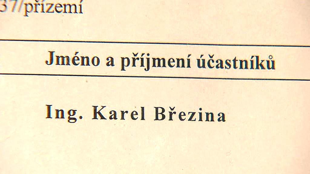 Spis Karla Březiny
