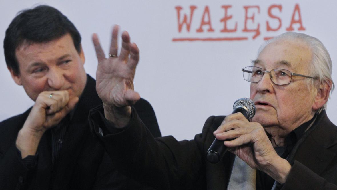 Andrzej Wajda a Robert Wieckiewicz