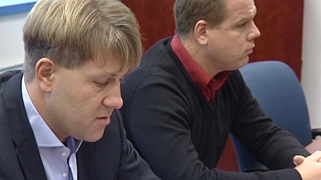 Martin Sepp a Pavel Petráček
