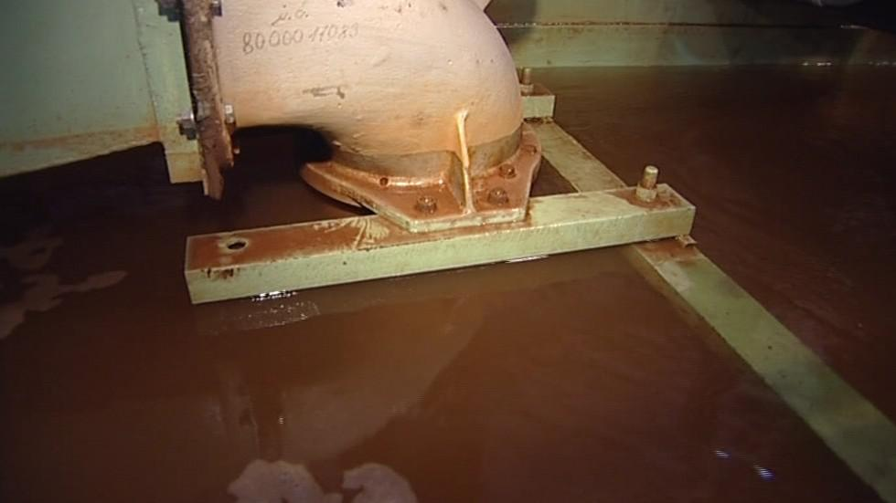 Vírová turbína na toky s malým spádem