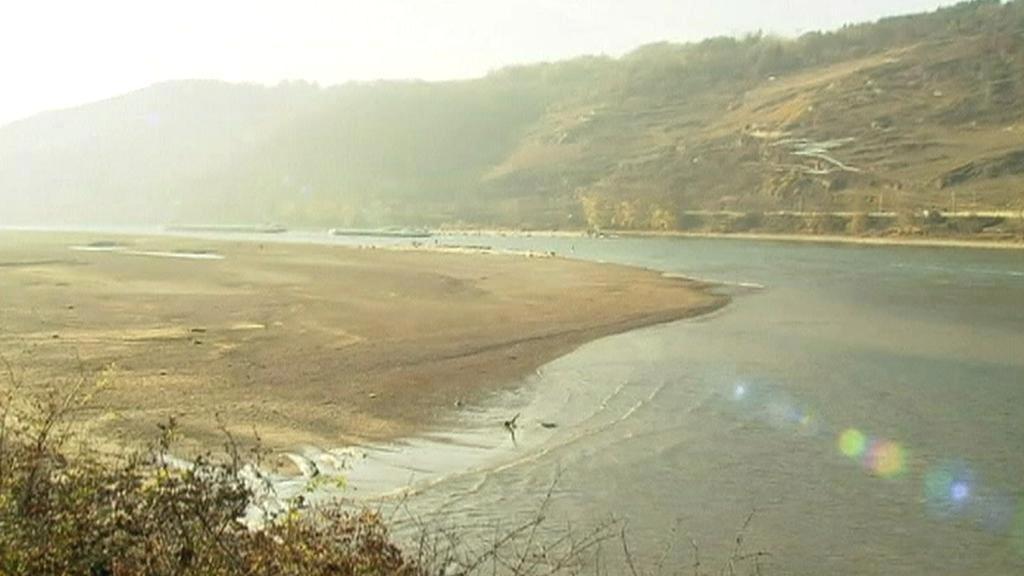 Řeky ve střední Evropě trápí sucho