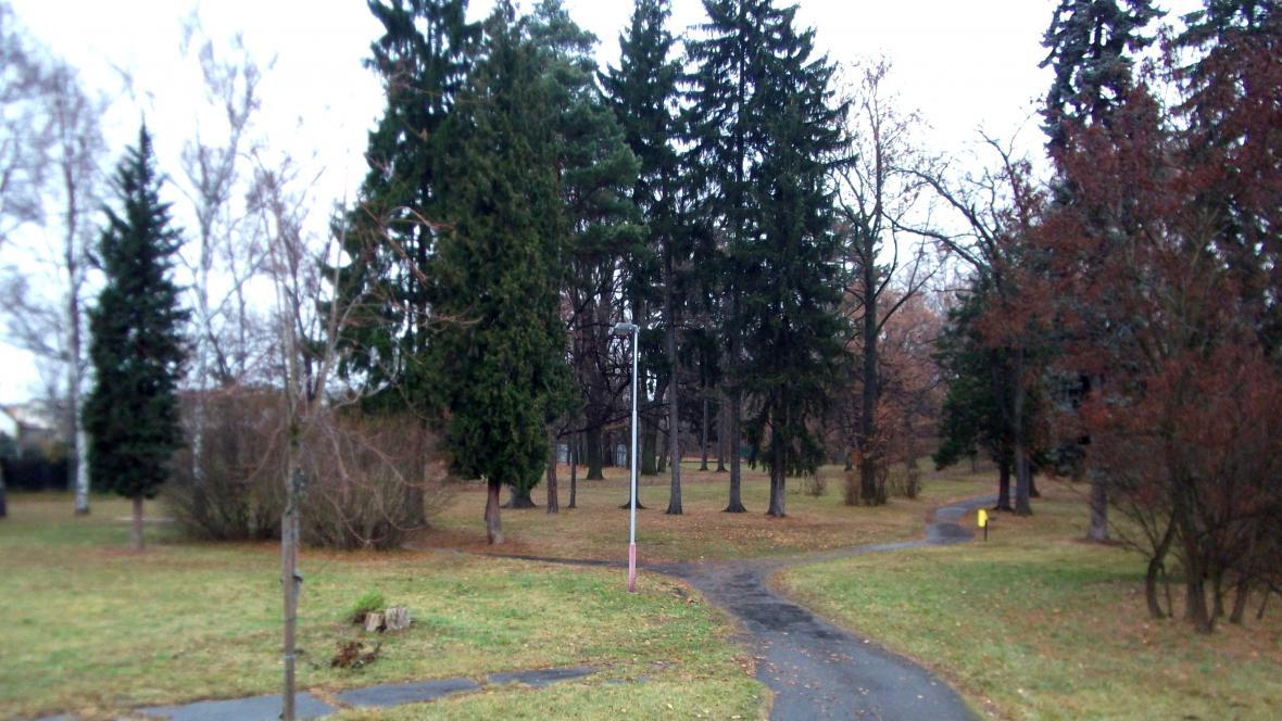 Americký park v Holešově