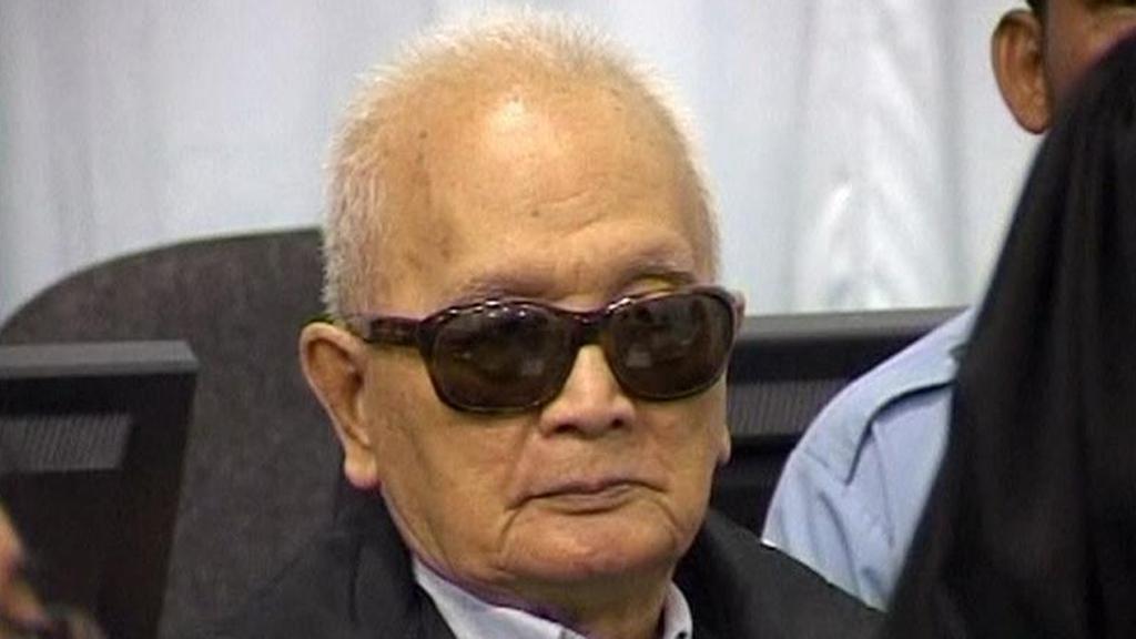 Nuon Chea před soudem
