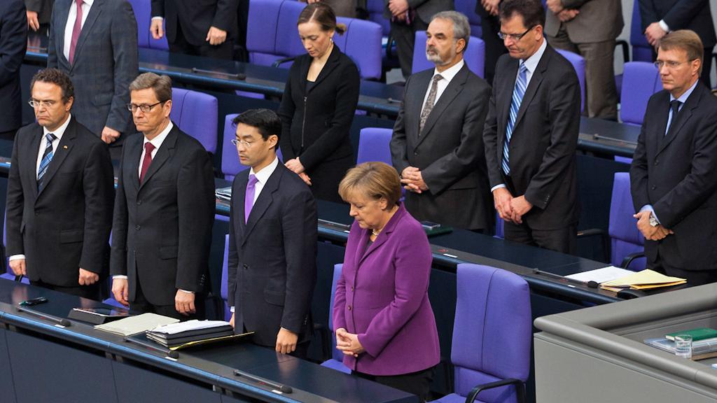 Bundestag drží minutu ticha za oběti kebabových vražd