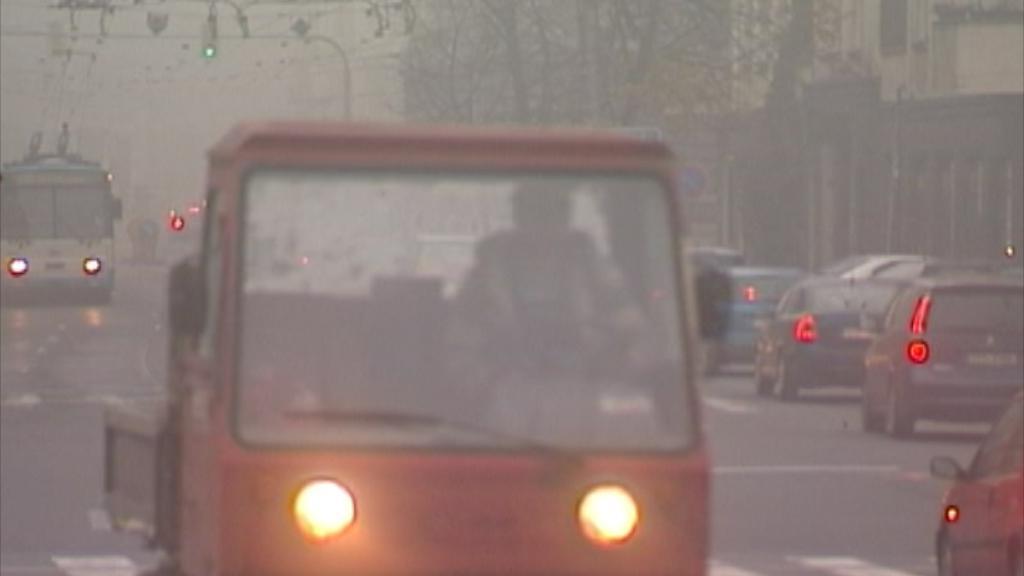 Smog v Ostravě