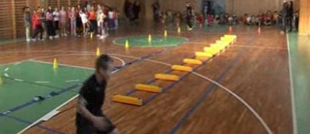 Dětský atletický mítink v Třebíči