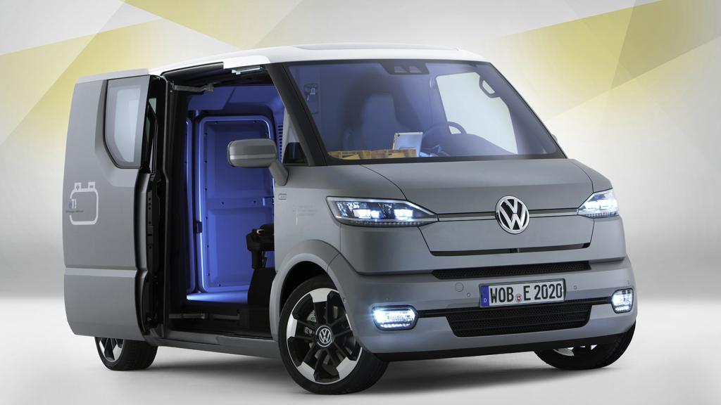 Poštovní dodávka Volkswagen eT!