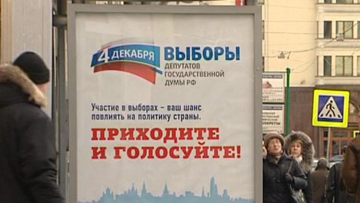 Plakát volební komise