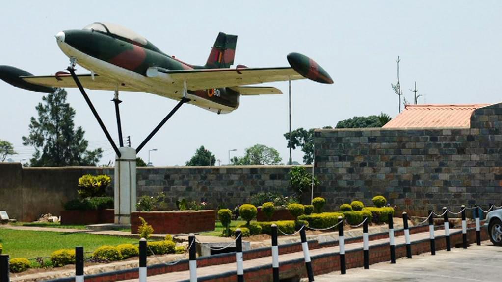 Letadlo, o které se zajímali muži obvinění v Zambii