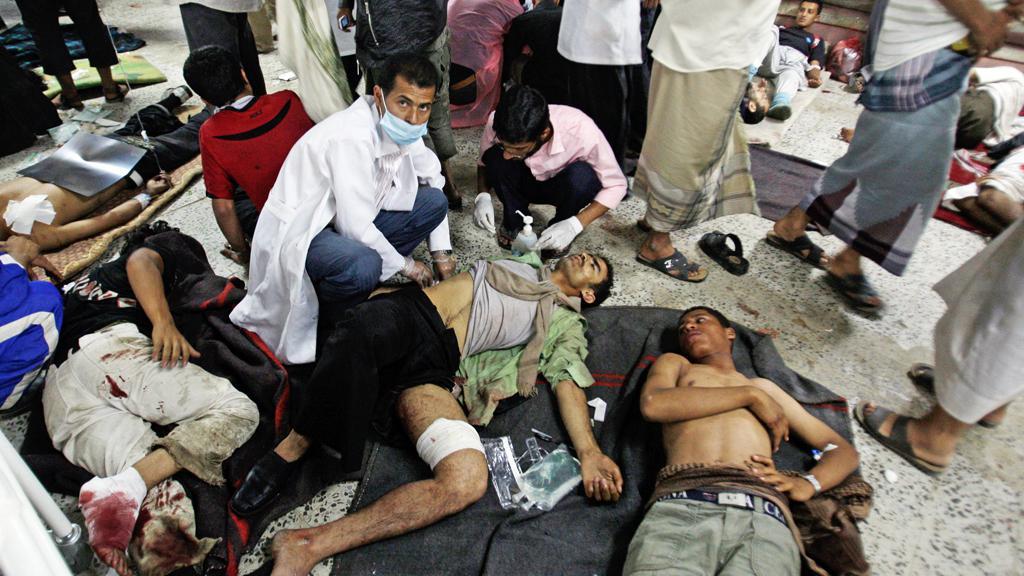 Následky nepokojů v Jemenu