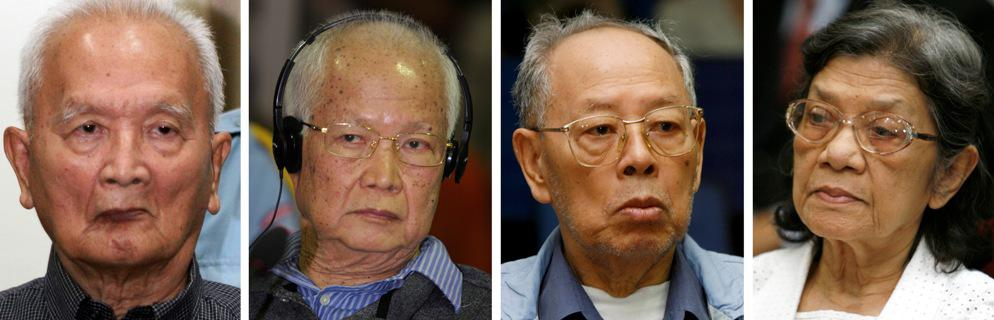 Nuon Chea, Khieu Samphan, Ieng Sary a Ieng Thirith