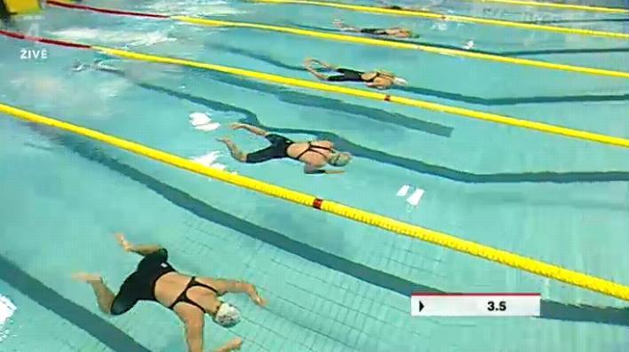 Plavci měli možnost splnit limity na ME