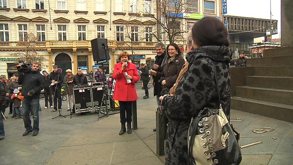 Projev Zuzany Baudyšové