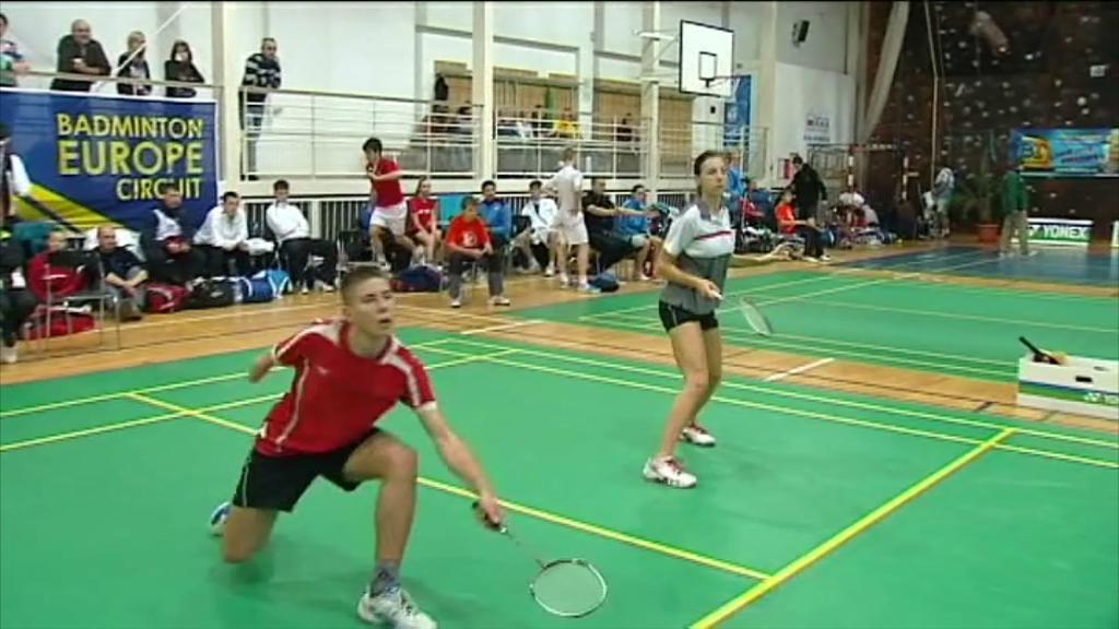 MČR juniorů v badmintonu