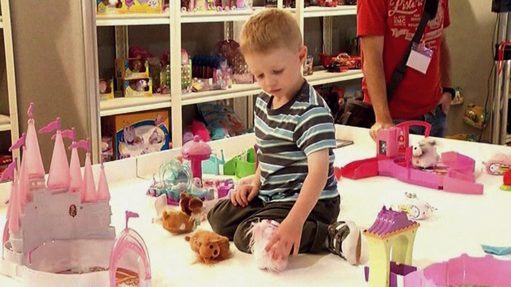 Dítě v hračkářství