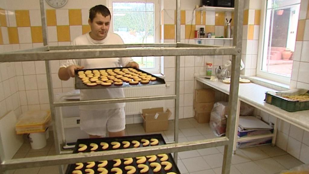Rodinná pekárna v Krchlebech