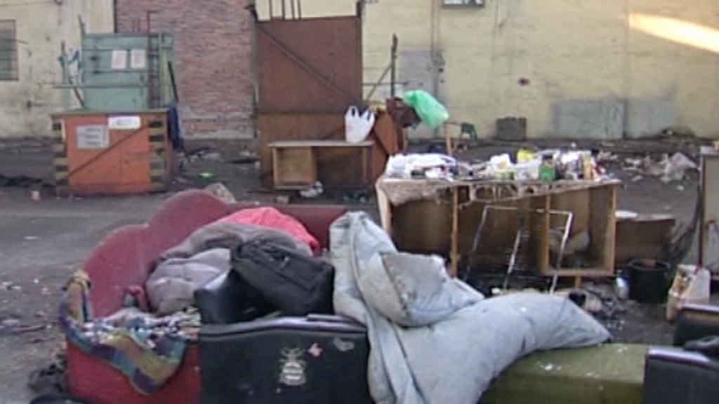 Obydlí bezdomovců
