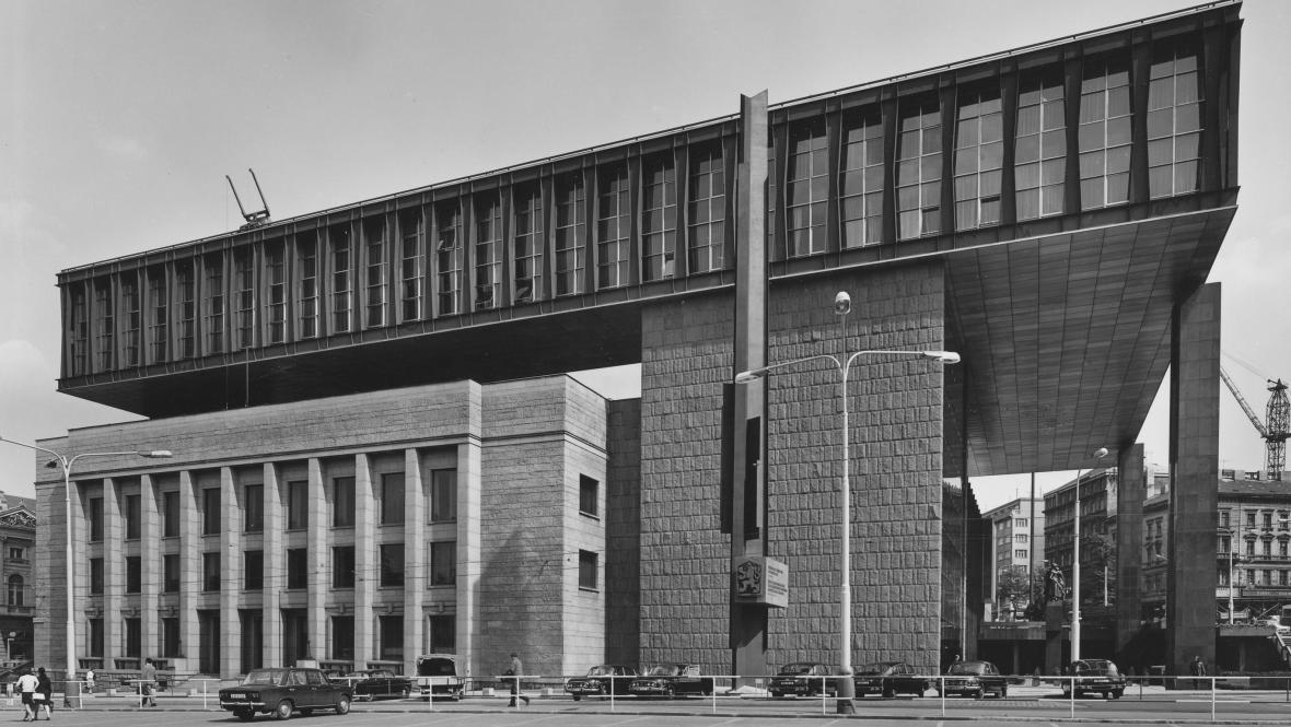 Budova bývalého Federálního shromáždění v Praze
