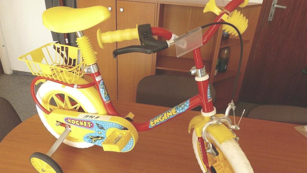 Nebezpečné dětské kolo