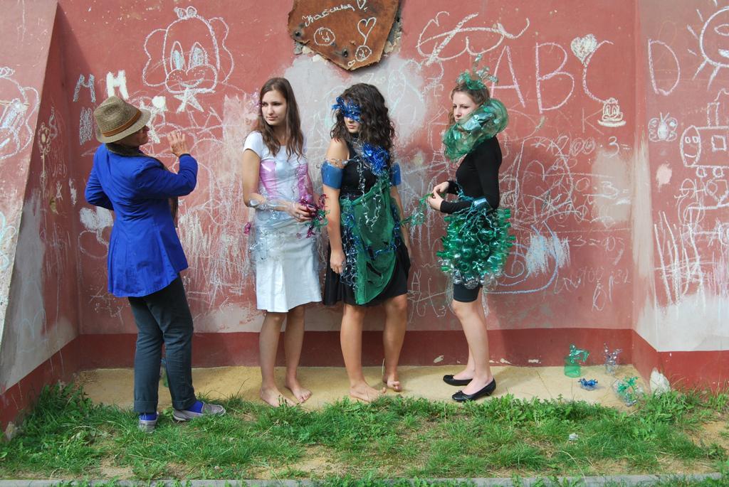 Workshop móda - lektorka Edina Thern