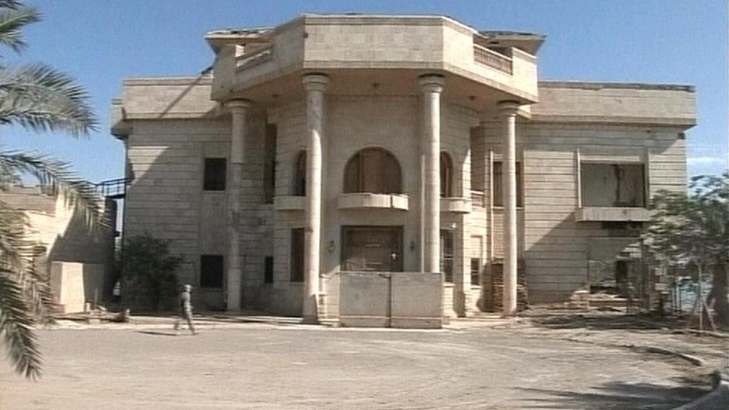 Palác, ve kterém věznili Američané Saddáma Husajna