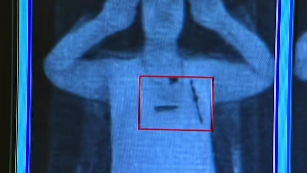 Letištní skener