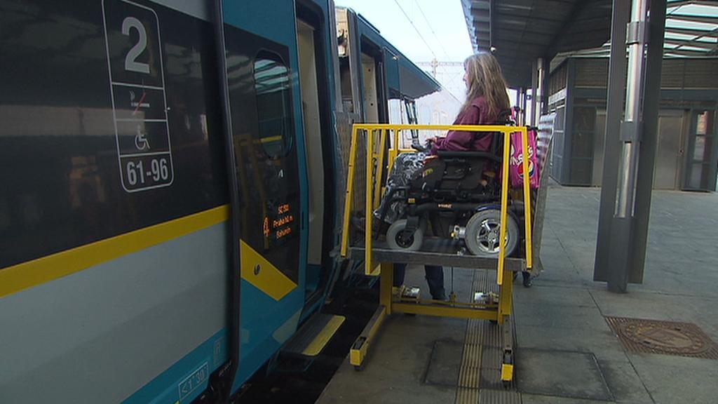 Plošina pro invalidy