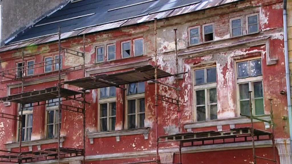 Rekonstrukce domu v Jáchymově