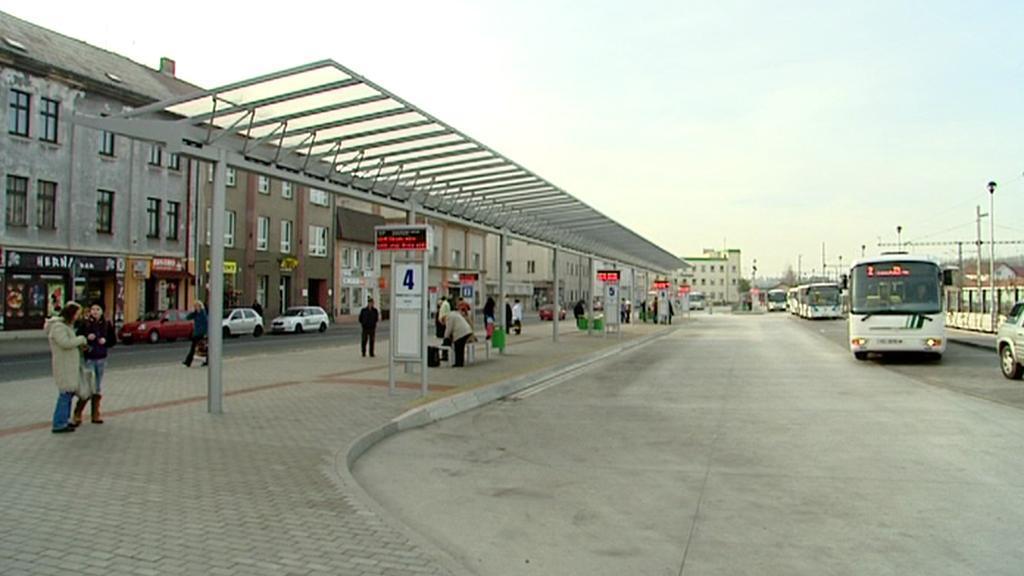 Nový autobusový terminál v Sokolově