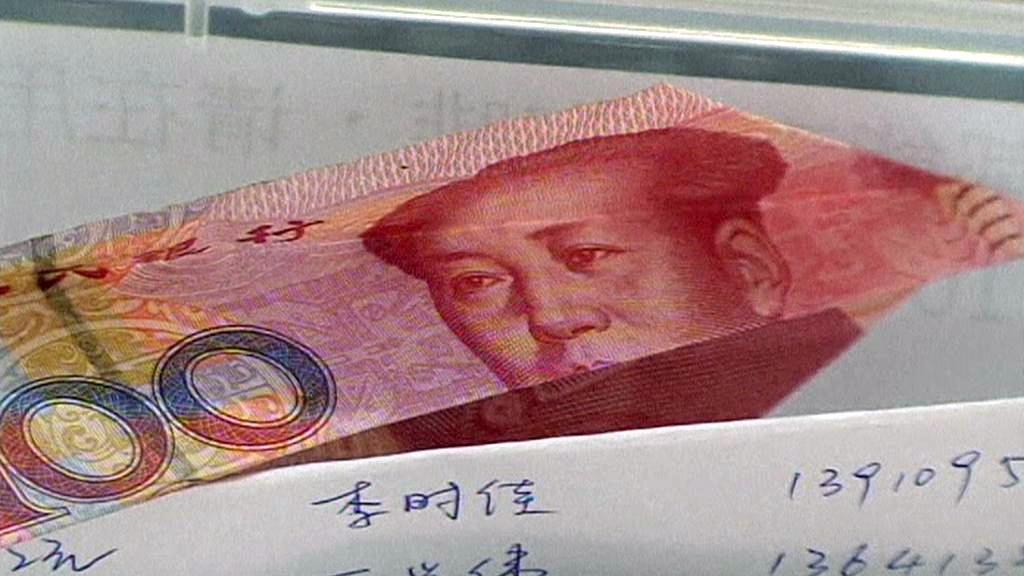 Peněžní dárky pro Aj Wej-weje