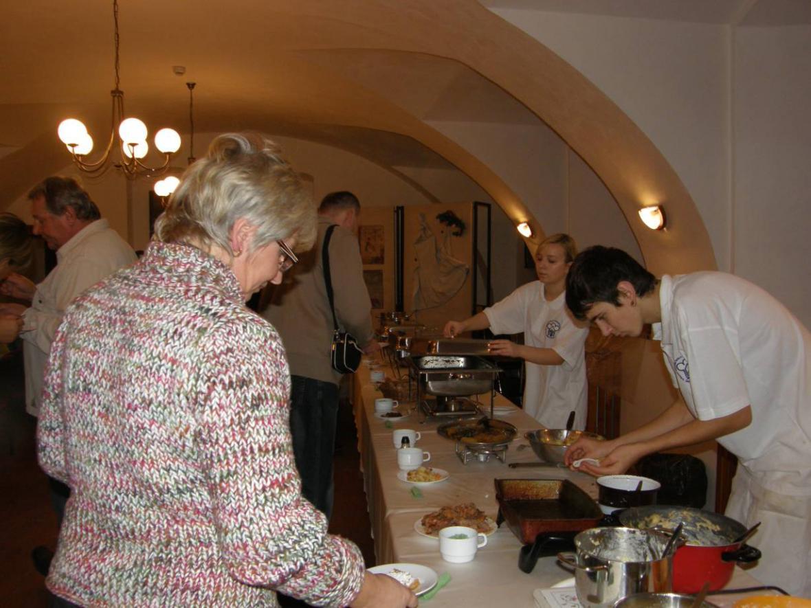 Kuchyně našich babiček v Regionálním muzeum Mělník