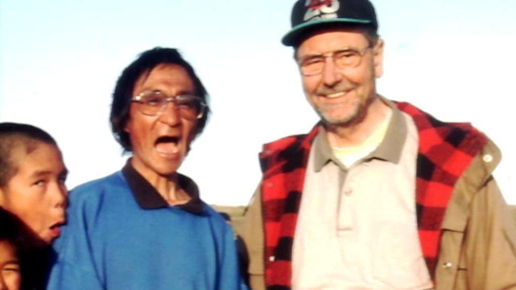 Josef Svoboda s obyvateli Arktidy