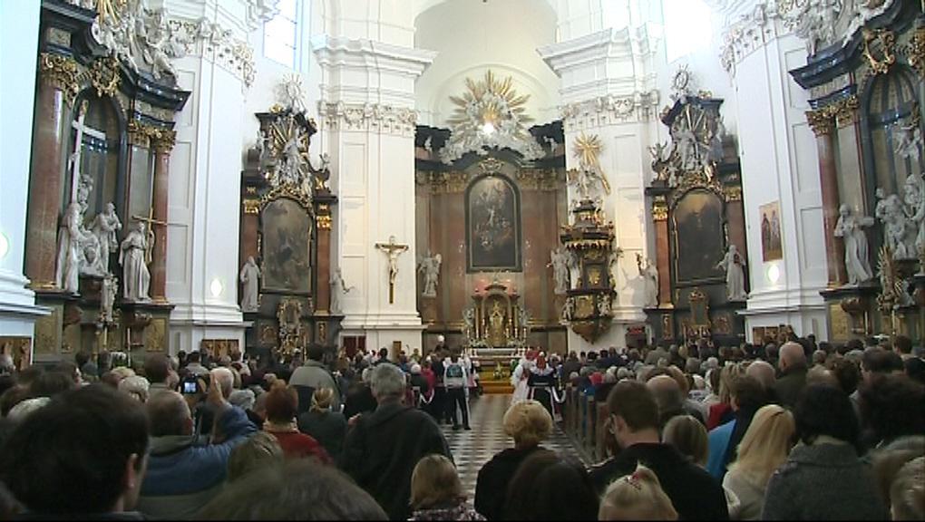 Kostel ve Veselí se zcela zaplnil
