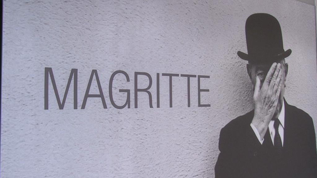 Belgický surrealista Magritte