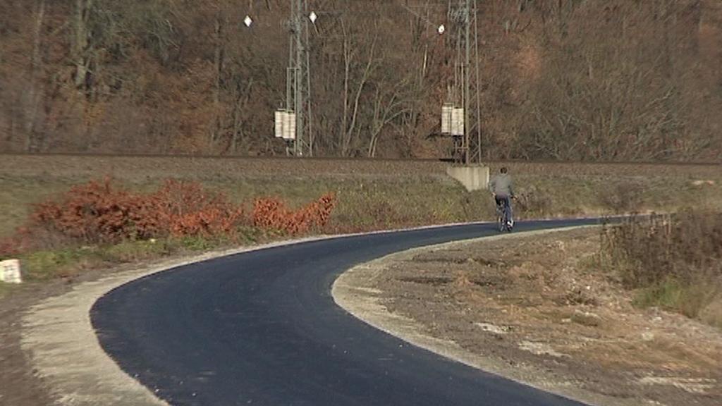 Cyklistická stezka na Zábřežsku